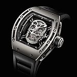 www.watchtime.com | watch to watch  | Richard Mille Tourbillon RM 052 Skull  | RMO52 SKULL 1501