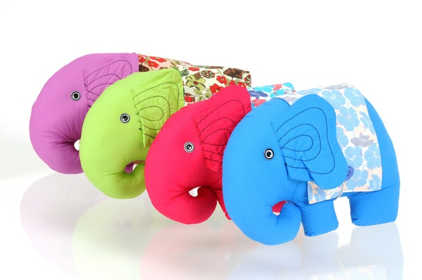 Cotton.T Elephant. ($53.00 NZD)  *High quality cloth toys. Silky feeling cotton toys with 100% cotton inner.