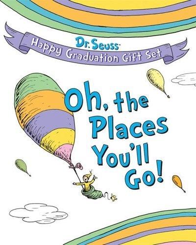 Dr. Seuss Happy Graduation Gift Set: Oh, the Places You'll Go!