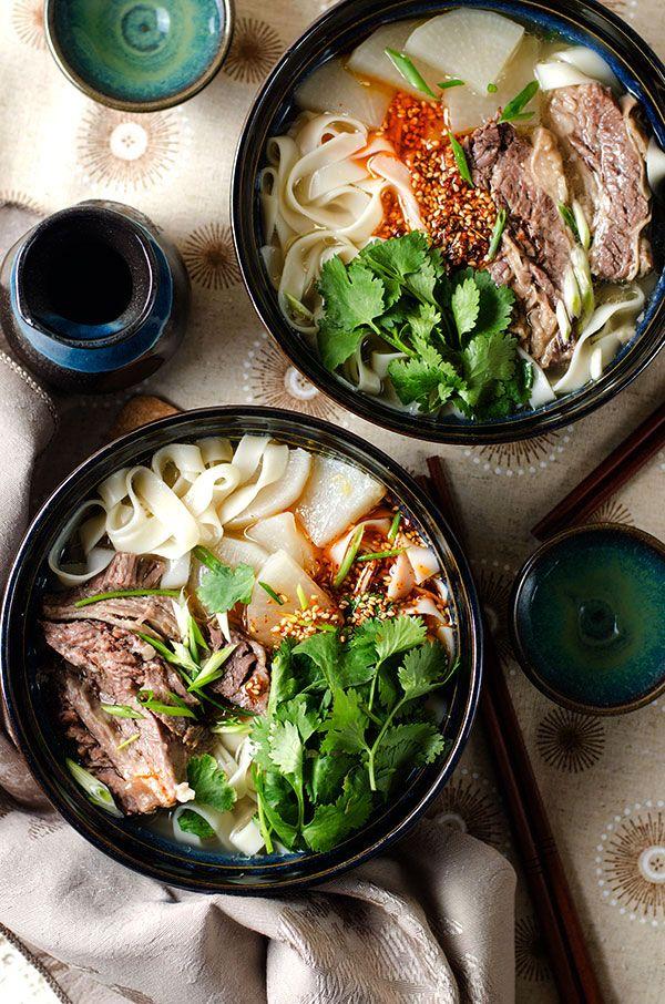 Lanzhou Beef Noodles | omnivorescookbook.com @OmnivorCookbook