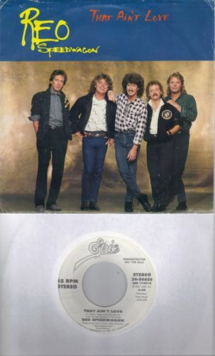 REO-SPEEDWAGON-That-Ain-039-t-Love-promo-45-with-PicSleeve-GARY-RICHRATH