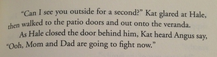 ONE of my absolute favorite lines in Heist Society.