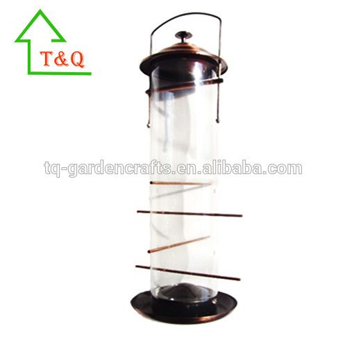 Deluxe Copper Nyjer Seed copper bird feeder