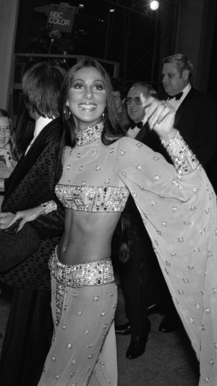 Cher 1974 Academy Awards