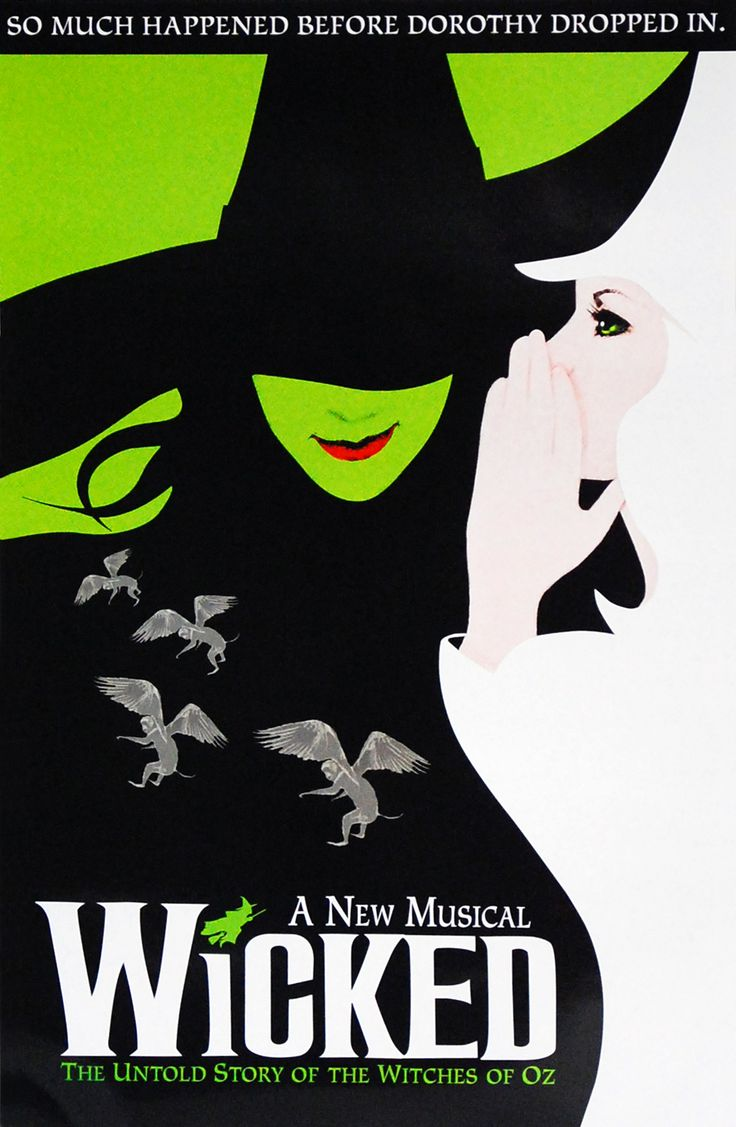Musicals On Broadway, Broadway Posters, Theatre Posters, Wicked, Notebook  Collage, Gregory Maguire, Living In New York, Originals Cast, Window Cards
