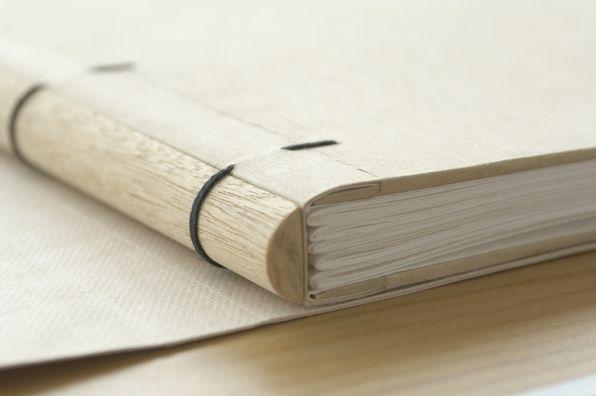 libro cosido:  a modified sewn board binding, developed and taught by Lori Sauer
