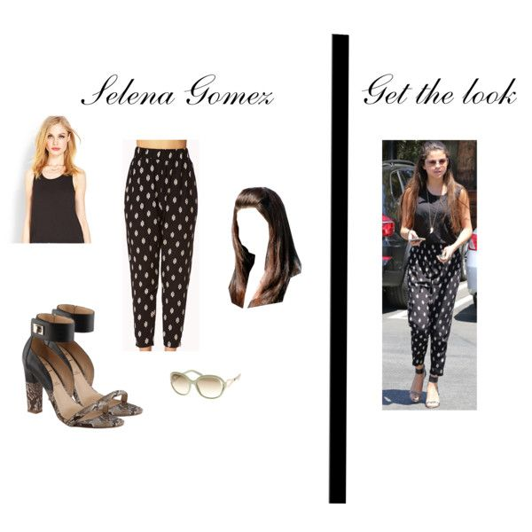 """""""Get the look - Selena Gomez"""" by sharongabrielse on Polyvore"""