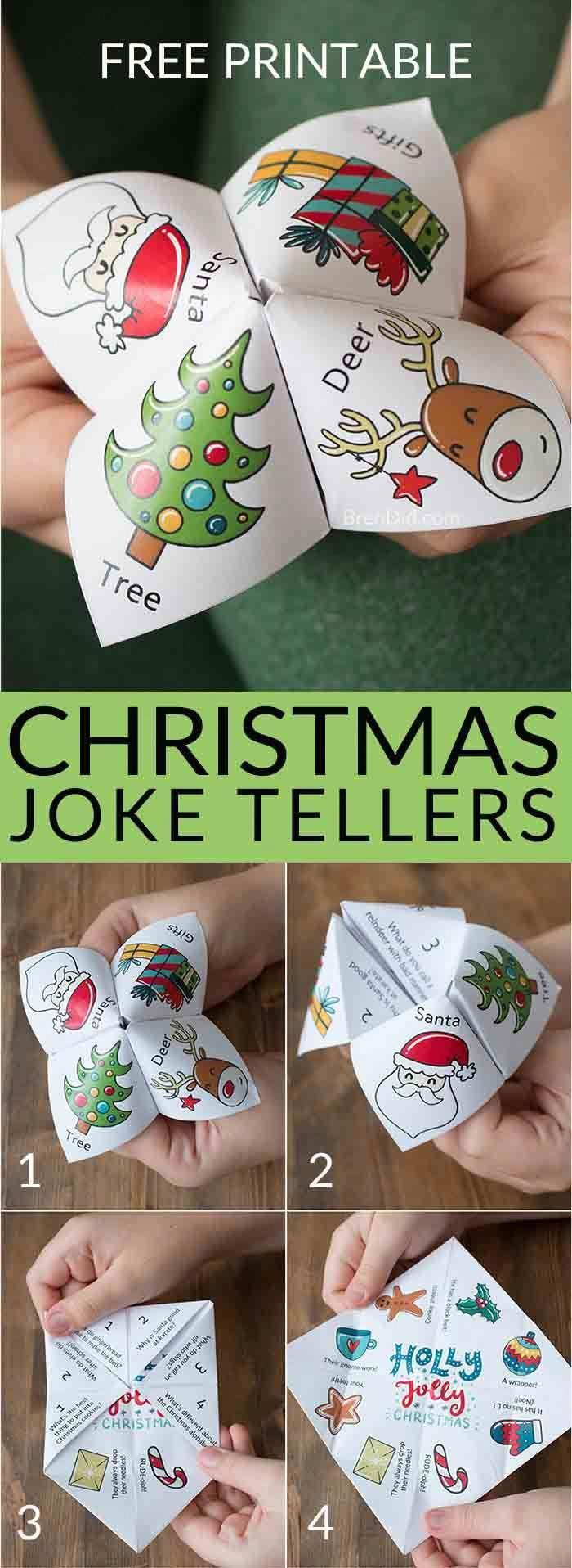 Christmas joke tellers | Christmas jokes for kids | school party | Christmas par… , #Chris…