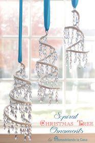 Remodelando la Casa: Spiral Christmas Tree Ornament