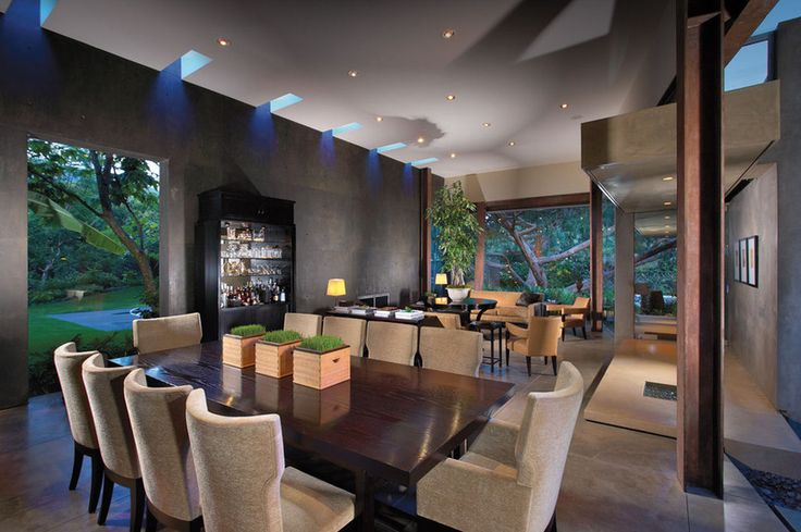definition for interior design - his living-dining area is defined by a succession of small ...
