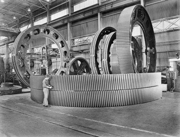 Manufacturing of Ring Gears from the Falk Collection, Milwaukee, Wisconsin