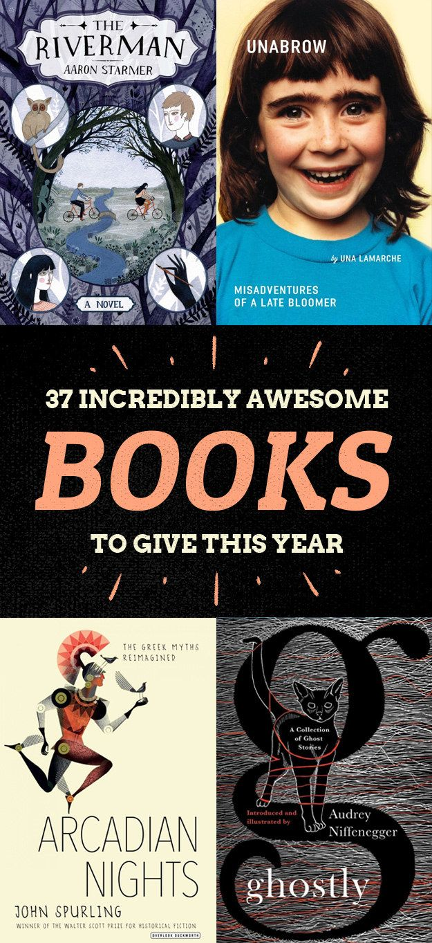 37 Incredibly Unique Books To Buy Everyone On Your List