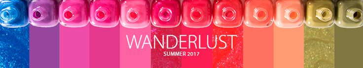 Zoya Wanderlust - summer colors. (cremes and a few shimmers)