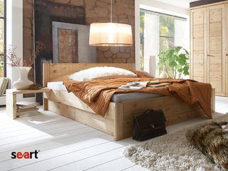 Seart.pl : Łóżko sosnowe Bristol 180 -