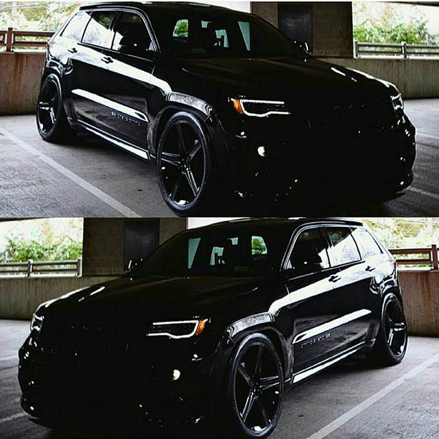 Its Darth Vaders Jeep! Owned by @_nightrider_Sent in by @musclecarzone