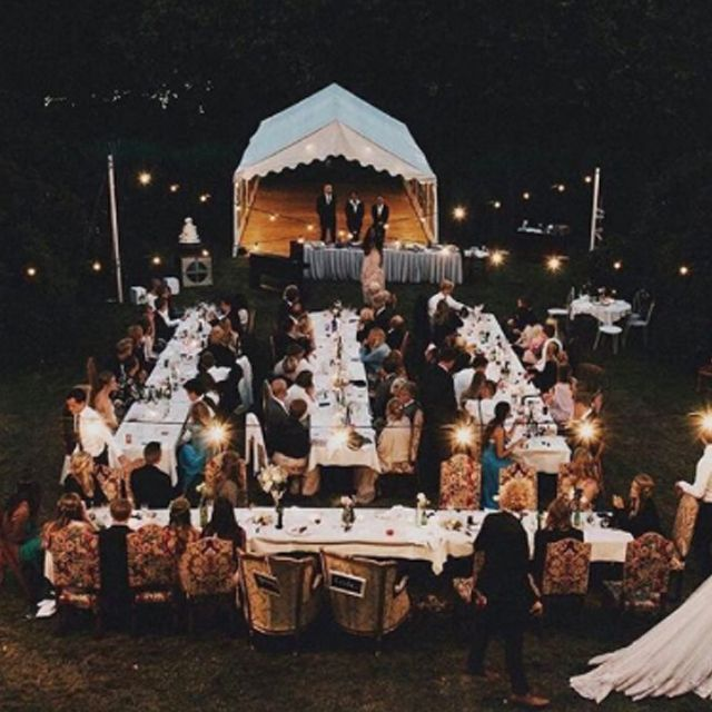 Ideal Al Fresco Wedding #bohowedding #bohemianwedding #ruedeseine