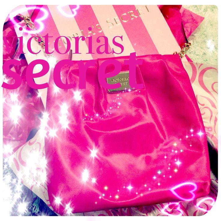 Victoria's Secret pembe çantam