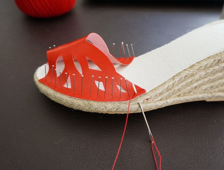 Sewing Bucket List Making shoes have been on my sewing bucket list since our trip to Spain last year. I fell in love with the idea that you can make your own espadrille. I watched every youtube I c…