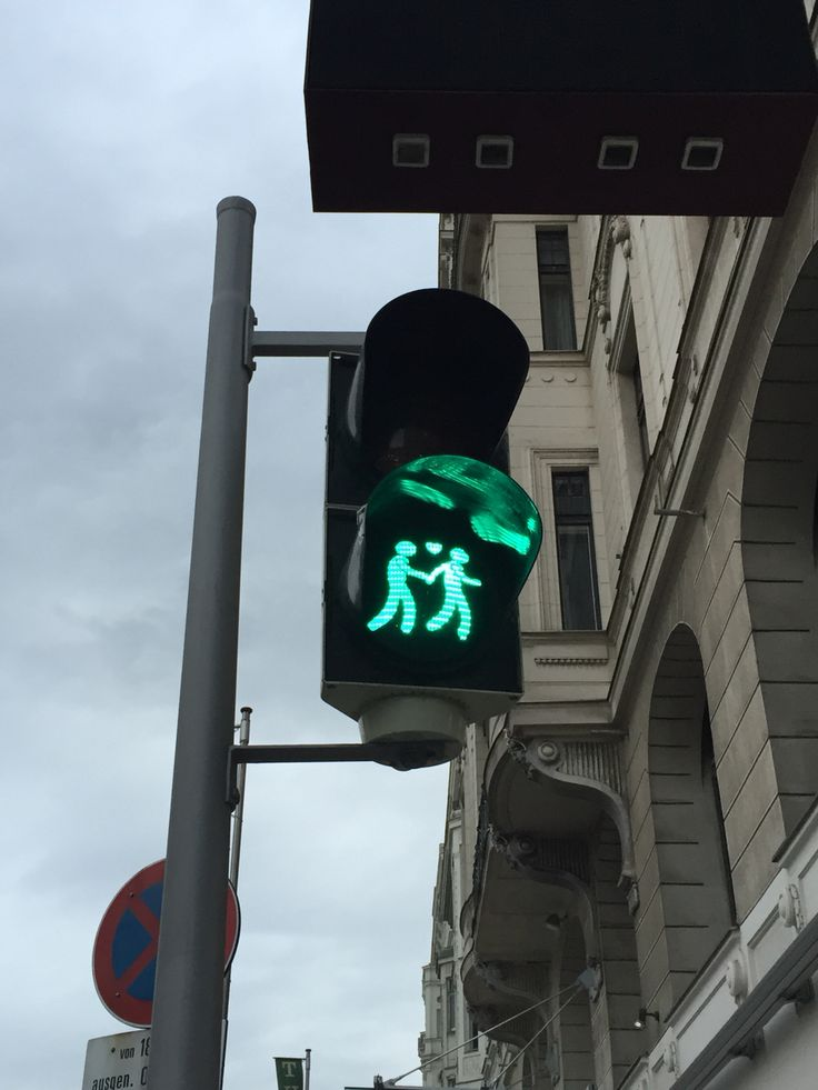 Traffic light at Vienna City!