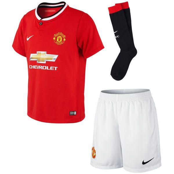 Manchester United FC Nike Preschool 2014/15 Home Soccer Kit – Red - $37.99