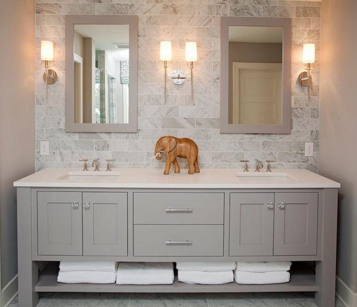 modern-double-sink-bathroom-vanity-double-undermount-sink-dual-undermount-sink-faucets-mirror-paneled-wall-medicine-storage-black-stained-wooden-wall-mounted-vanity-.jpg (736×633)