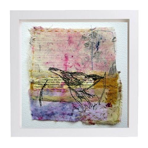Landbirds Advacet in frame (sold)