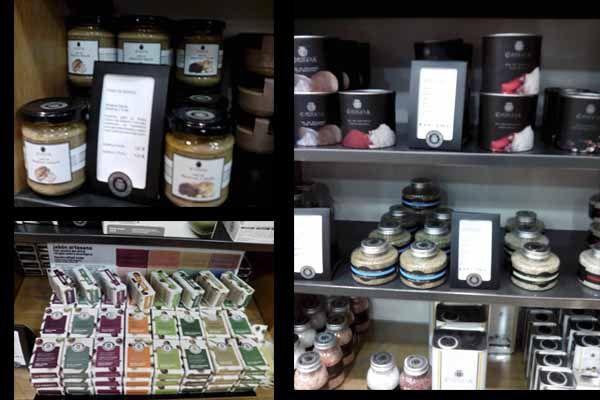 productos-lachinata-sol. Alimentos con aceite. gourmet, Madrid, calle mayor, 44