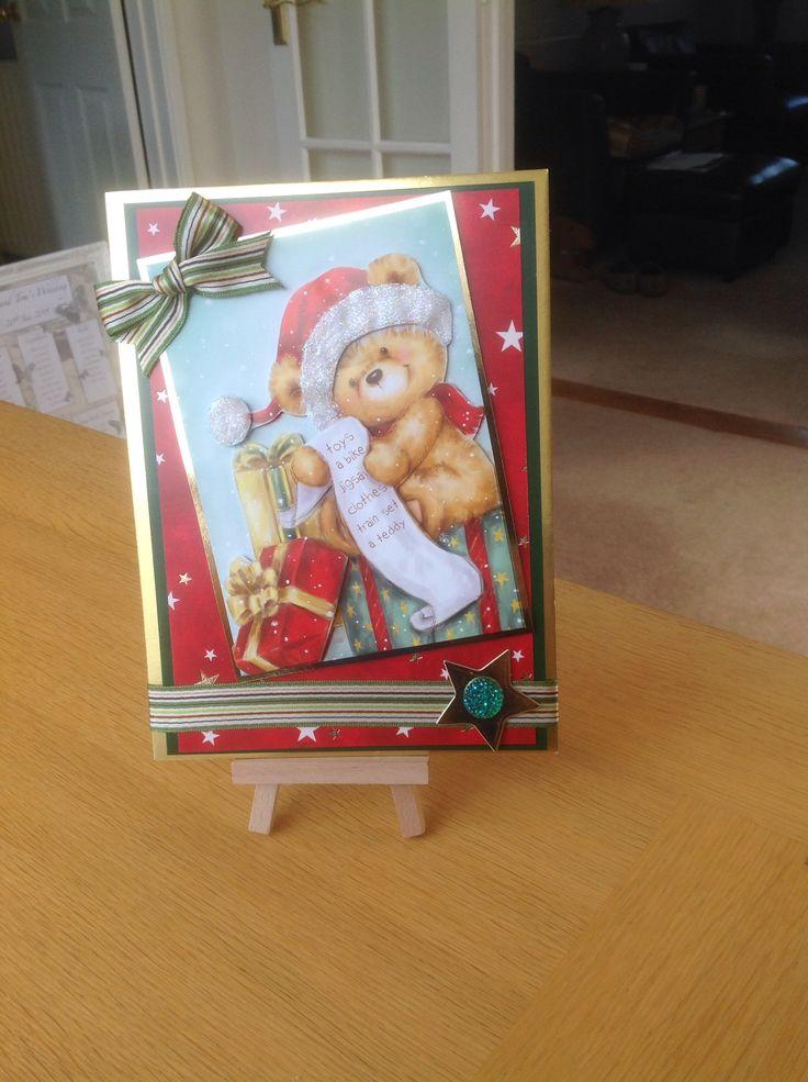 Hunkydory christmas card