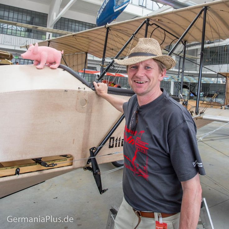 Самолёт Отто 1913 года. Восстановлен на Музейном аэродроме Немецкого музея к столетию ко дня постройки