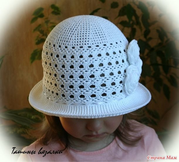шляпки шапки мак вязаные шляпки панамки вязание крючком летние
