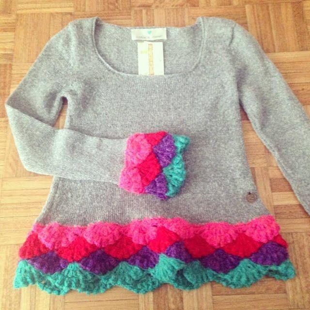 María Cielo: Sweaters de Florencia Llompart