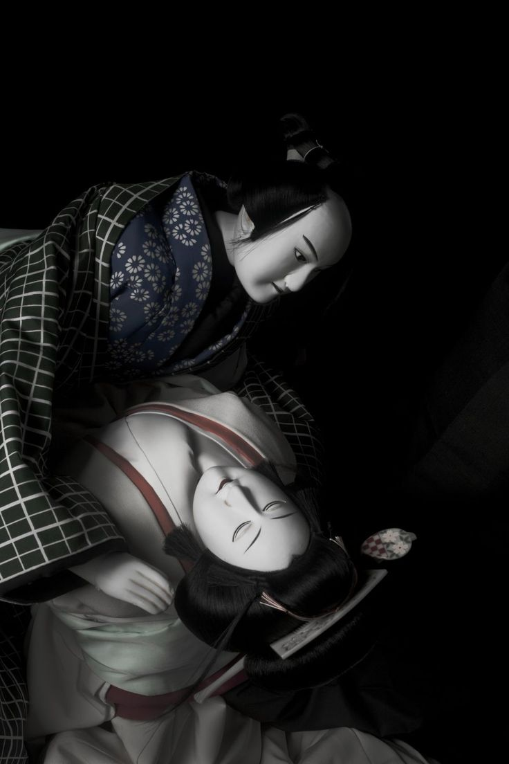 Japanese traditional puppet theater, Bunraku 文楽