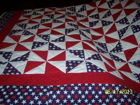 Easy Patriotic Quilt Patterns -