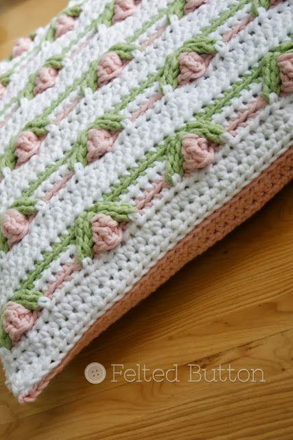 Mejores 270 imágenes de Crochet > Felted Button en Pinterest ...