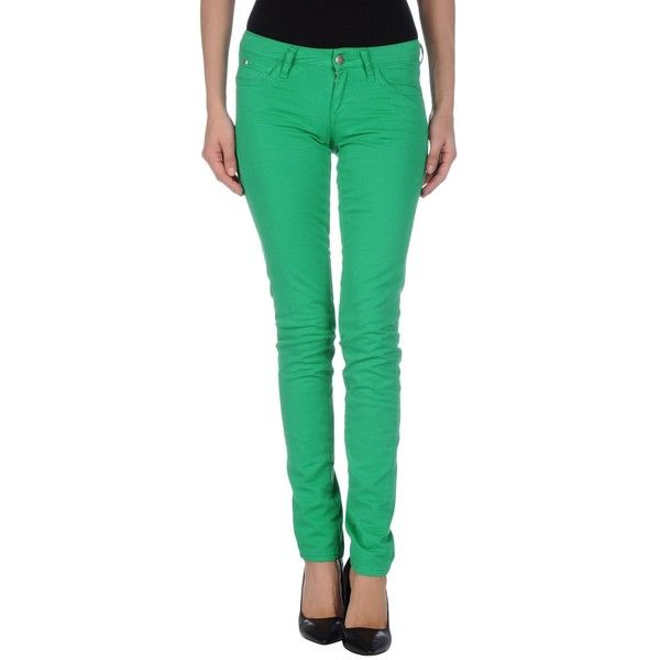 Miss Sixty Jeans ($27) ❤ liked on Polyvore featuring jeans, green, skinny jeans, low waist skinny jeans, button-fly jeans, miss sixty jeans and miss sixty