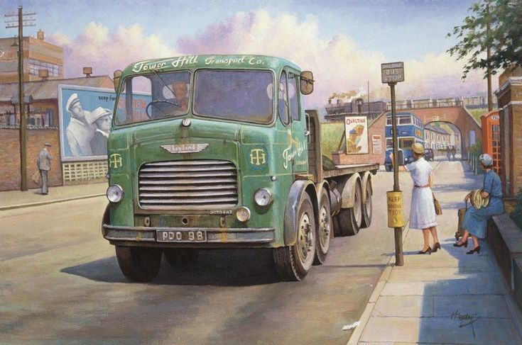 Leyland Octopus » Transport Artist