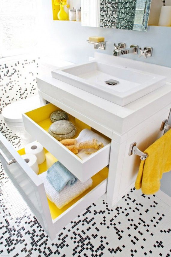 47 best images about My Yellow and grey bathroom ...