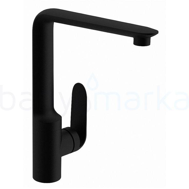 Style X Sink Mixer Vitra matt black Kitchen