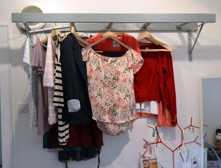 Leiter Selber Machen Dekoration Diy Kleiderschrank Garderobe Selber Machen Garderobe Diy