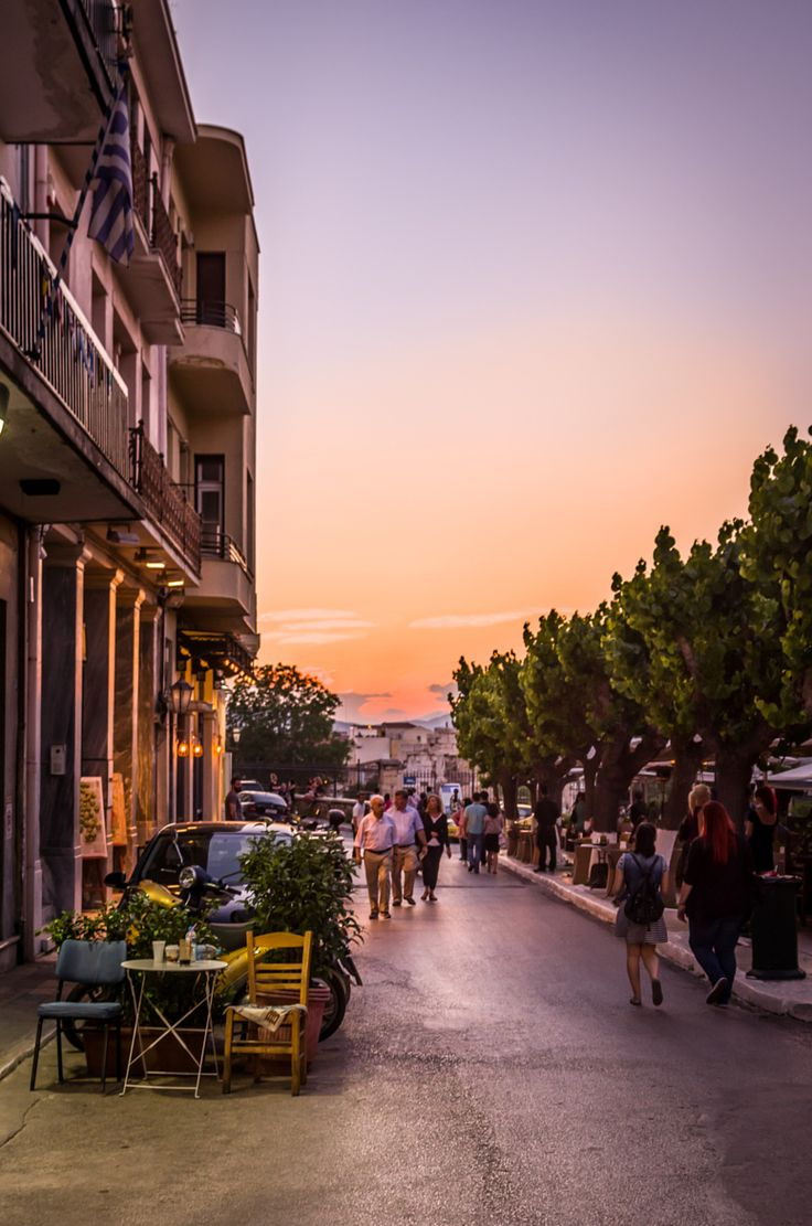 Street in Athens, Greece