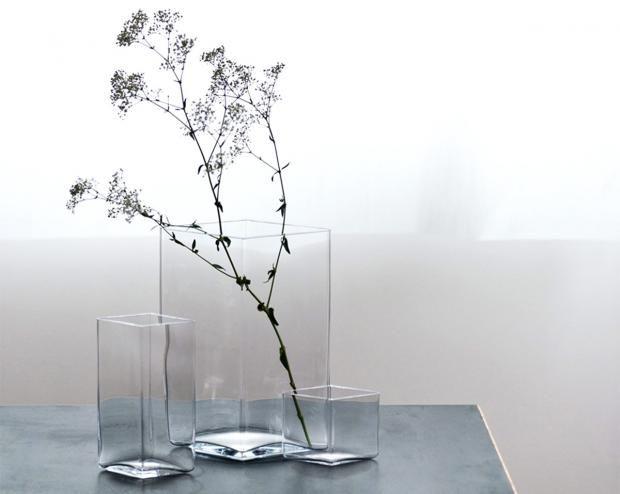 """Geschenke für Puristen: Vase """"Ruutu"""" von Iittala"""