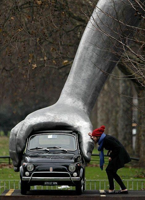 Giant Hand, Park Lane, London