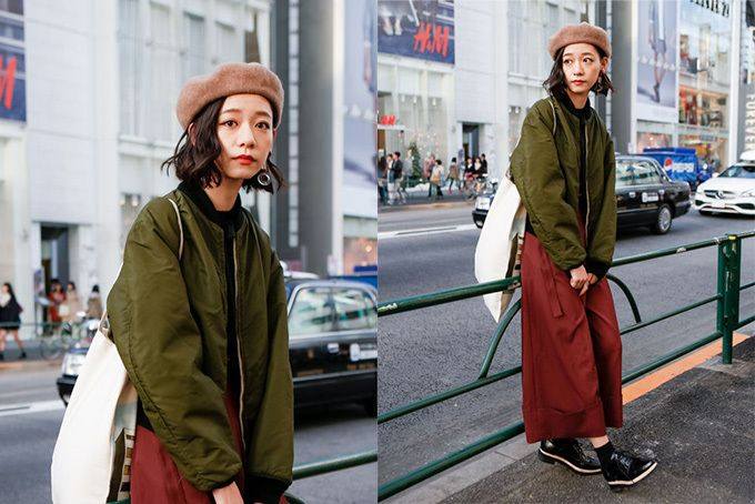 MA-1コーディネート集 - 人気ストリートスナップの着こなし術紹介 | ファッションプレス