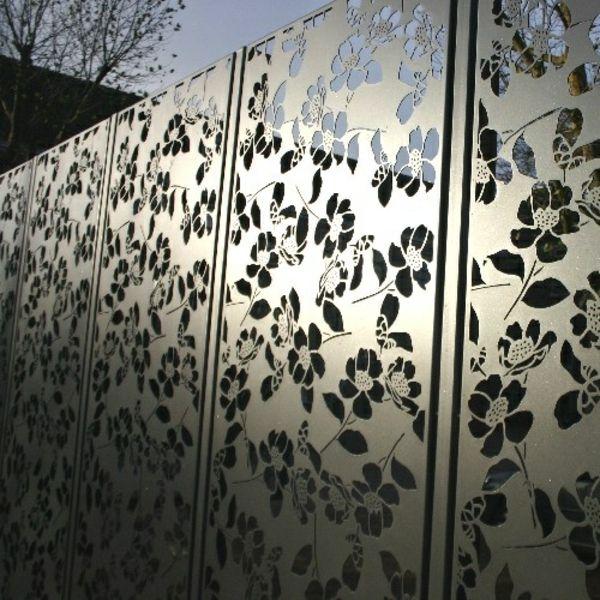 75 besten Gartenzaun Bilder auf Pinterest Gärten, Eisen Kunst - gartenzaun blickdicht metall