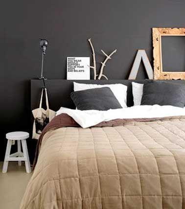 17 meilleures id es propos de t te de lit en bois flott for Decoration pour lit