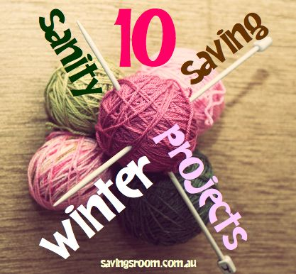 Cheap entertainment   10 sanity saving winter projects http://savingsroom.com.au/wp-content/uploads/2014/01/winterprojects_10.jpg http://savingsroom.com.au/cheap-entertainment-10-sanity-saving-winter/  Cheap entertainment is a no-brainer in winter! You have got to give winter credit and love this season for the way it lets you scoff down soup, slob around in your slippers and it's intrinsic value for helping people to avoid having to look good in togs.  Nice one winter! Y