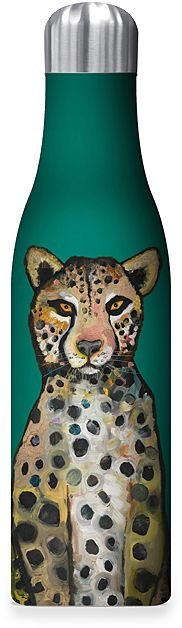 Ch-Ch-Ch Cheetah 17-Oz. Stainless Steel Insulated Water Bottle