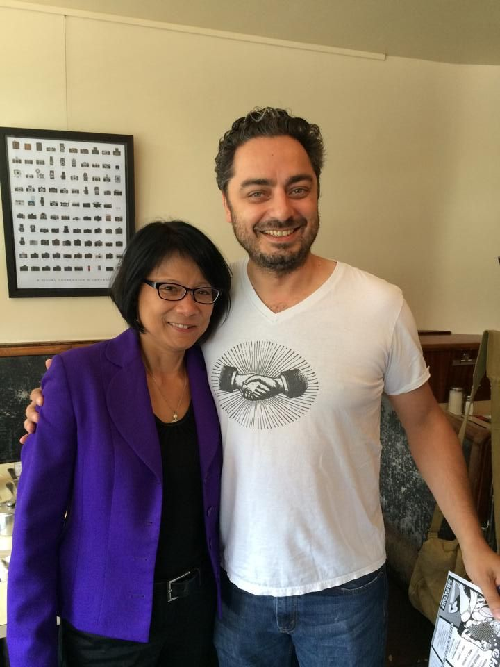 2014: Olivia Chow & Owner Alex Gupta, at The Lakeview