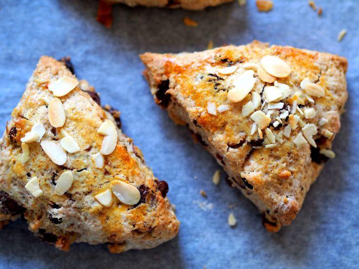 "sweet melange: Grov scones aneb celozrnné scones ""norského typu"" ..."