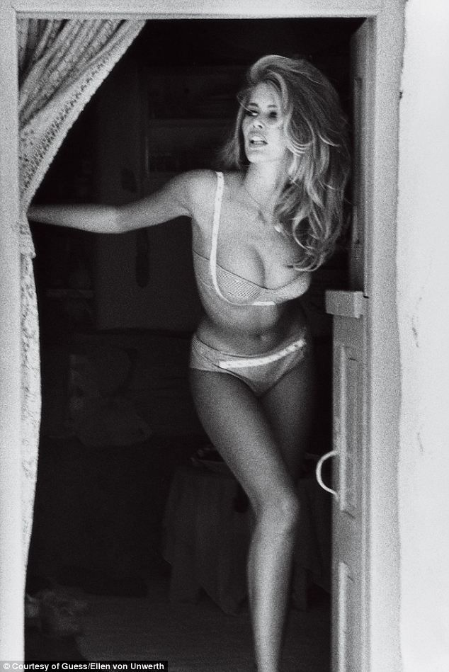Claudia Schiffer: 23 years after her first Guess campaign, the supermodel said, 'Shooting the Guess 30th anniversary campaign was like going back in time. It brought back so many great memories'